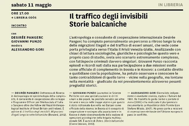 130509 Traffico degli invisibili Vicino Lontano 2013