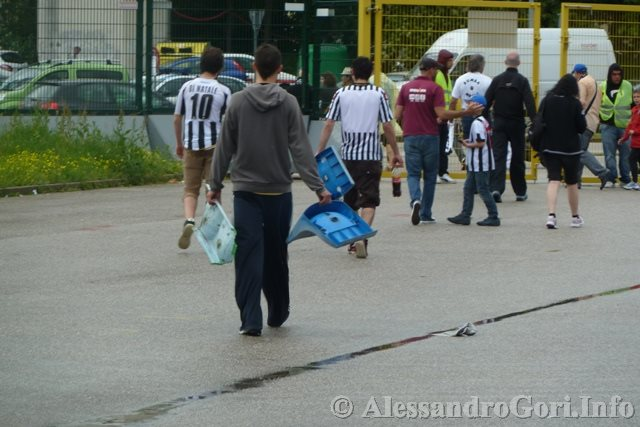 130512 Udinese-Atalanta ultima al Friuli - Foto Alessandro Gori P1180475