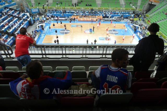 130911 Srbija-Belgija Eurobasket Ljubljana - Foto Alessandro Gori P1240504