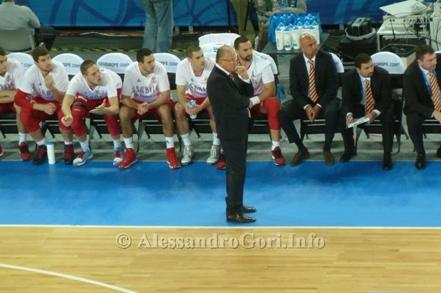 130911 Srbija-Belgija Eurobasket Ljubljana - Foto Alessandro Gori P1240534