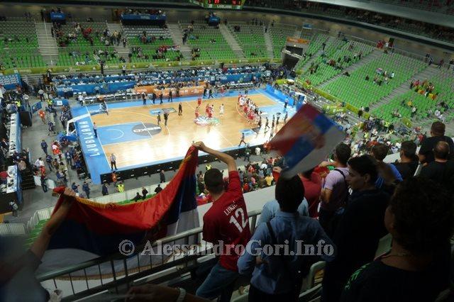 130911 Srbija-Belgija Eurobasket Ljubljana - Foto Alessandro Gori P1240557