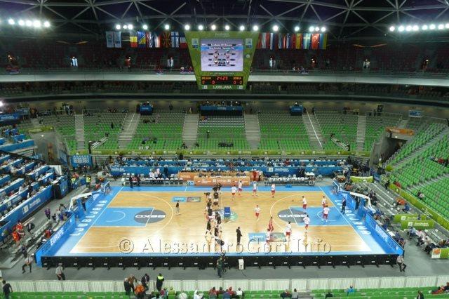 130911 Srbija-Belgija Eurobasket Ljubljana - Foto Alessandro Gori P1240499