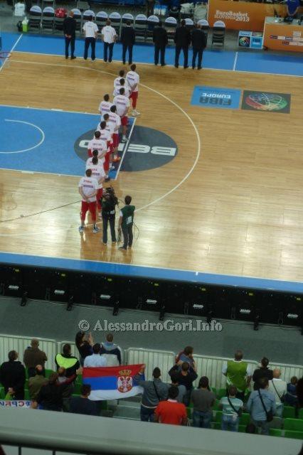 130911 Srbija-Belgija Eurobasket Ljubljana - Foto Alessandro Gori P1240510