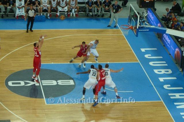 130911 Srbija-Belgija Eurobasket Ljubljana - Foto Alessandro Gori P1240541