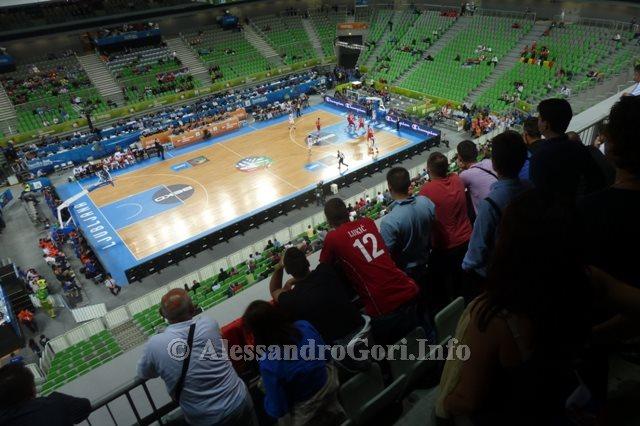 130911 Srbija-Belgija Eurobasket Ljubljana - Foto Alessandro Gori P1240544