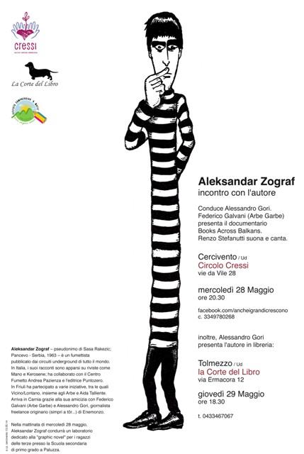 Zograf 28 e 29 maggio 2014